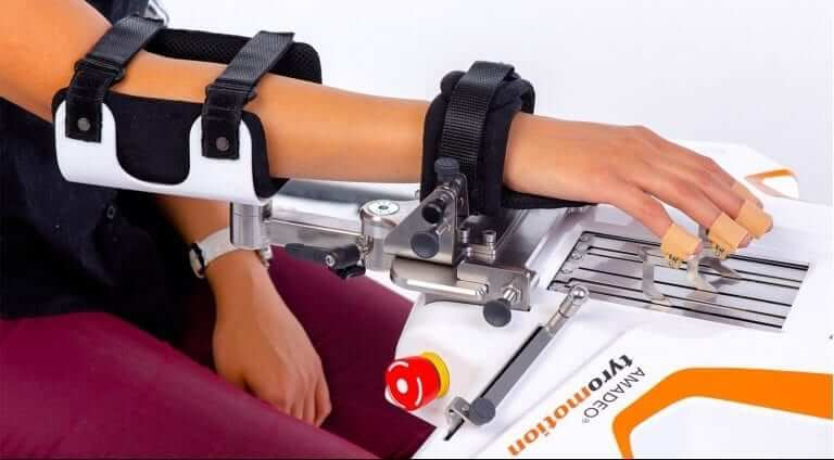 AMADEO robotic-assisted therapy