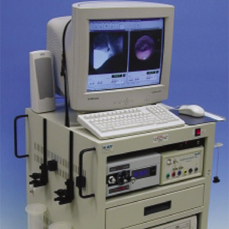 The Videofluoroscopy machine